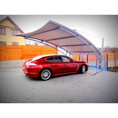 Luxusní přístřešek pro auto s plachtou Prestige