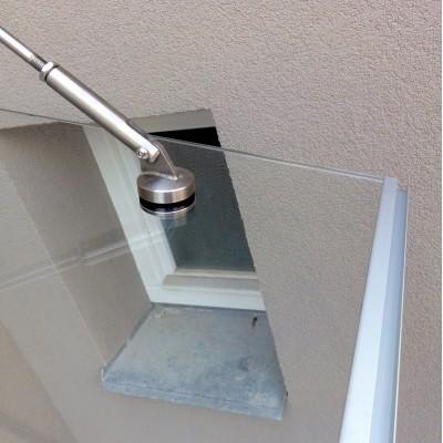 Okapnička pro skleněné stříšky