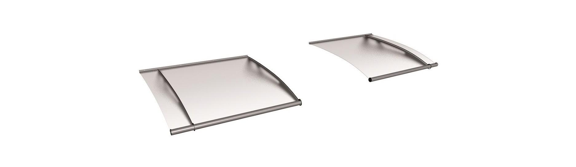 Stavebnicový systém stříšek Lightline Polymer. Sestavte si nejdelší vchodovou stříšku.